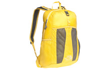 The North Face Flyweight Pack leopard yellow